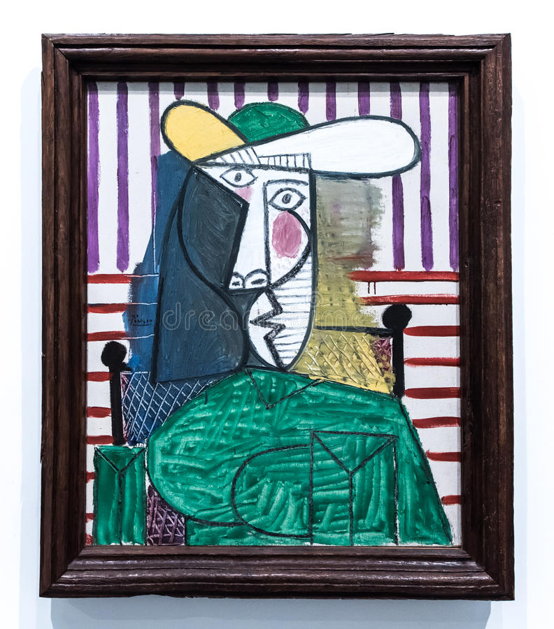 Pablo Picasso, 1881 - 1973 royalty free stock photography