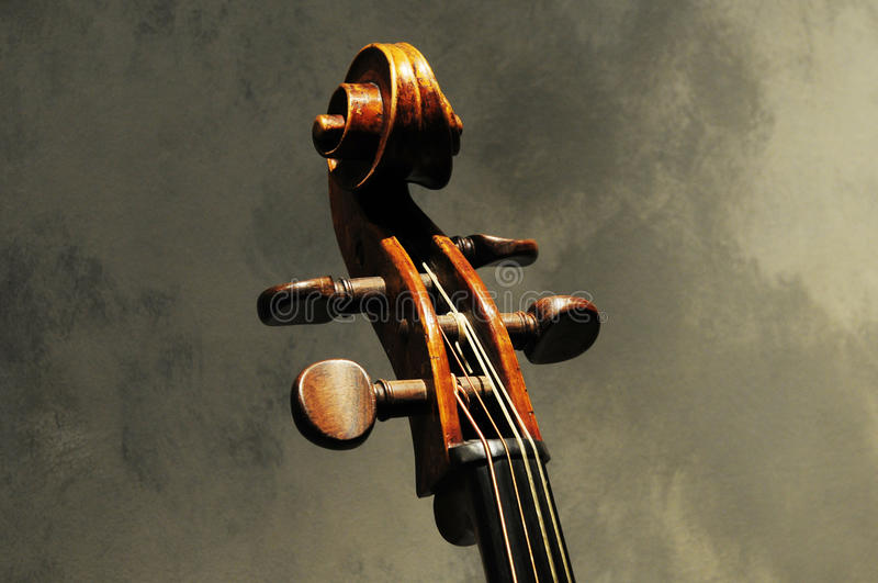 Artwork of musical instrument violin royalty free stock images