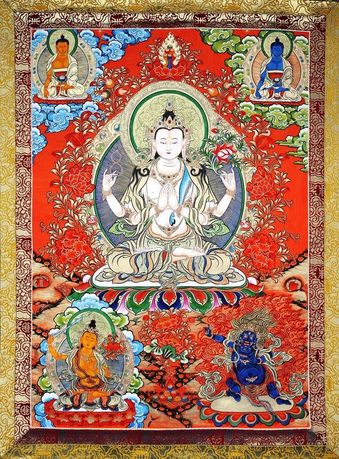 Free Artwork Of Tibet Stock Photos - 10498413