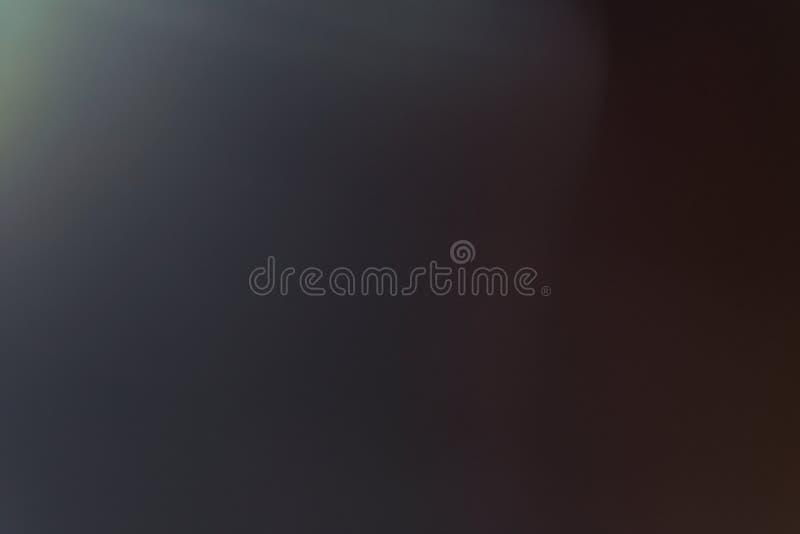 Arty do brilho do sumário do alargamento da lente da luz suave simples foto de stock
