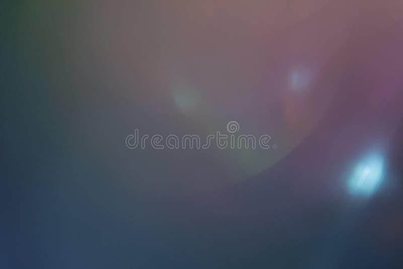 Arty do brilho do sumário do alargamento da lente da luz suave simples imagens de stock royalty free