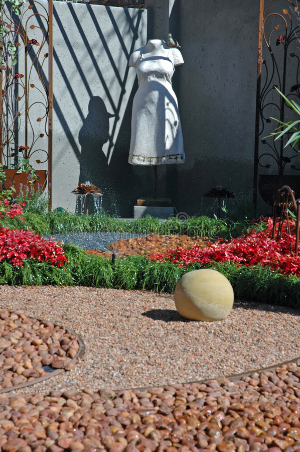 Download Arty Garden Image. Stock Images - Image: 1059304