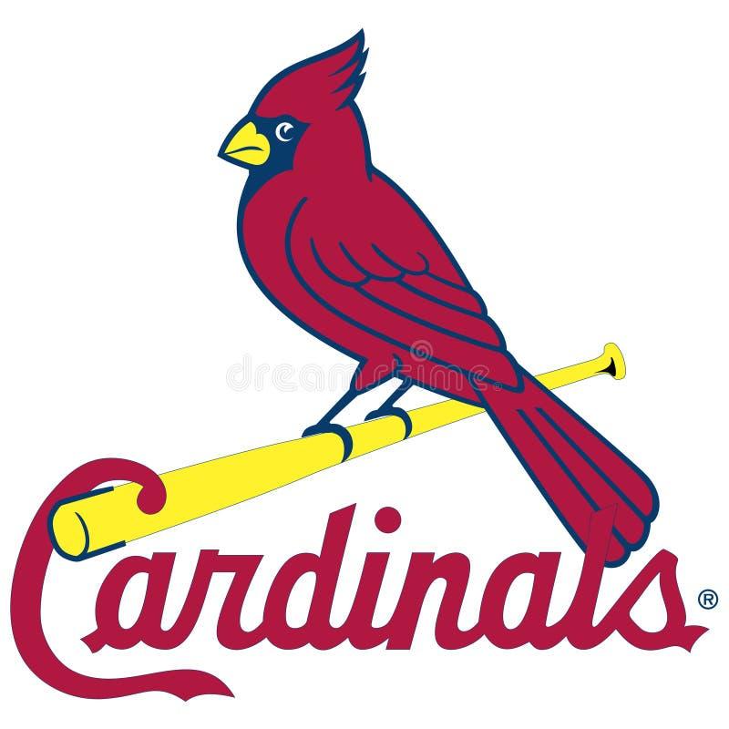 Artykuł wstępny - MLB St Louis kardynały ilustracja wektor