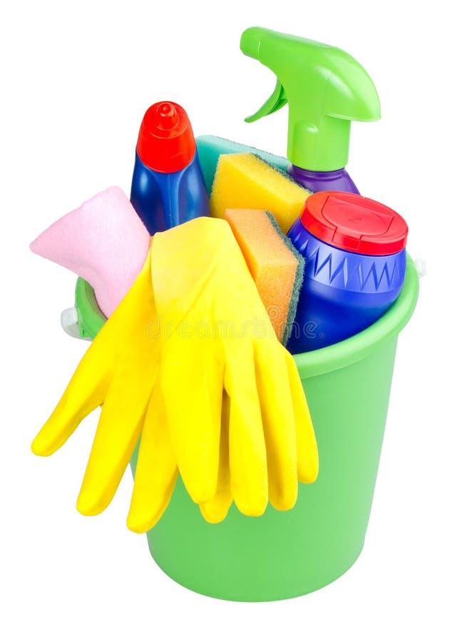 artykułów wiadra cleaning obraz royalty free