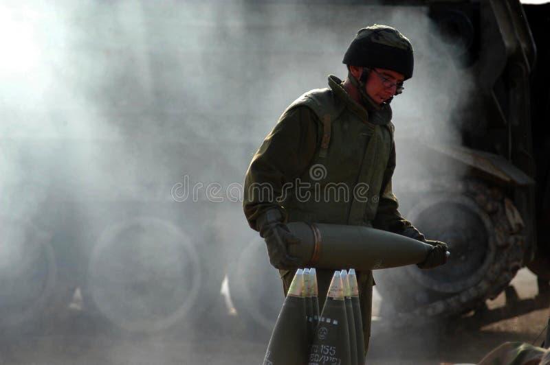 Artyleryjscy korpusy - Izrael obrazy stock