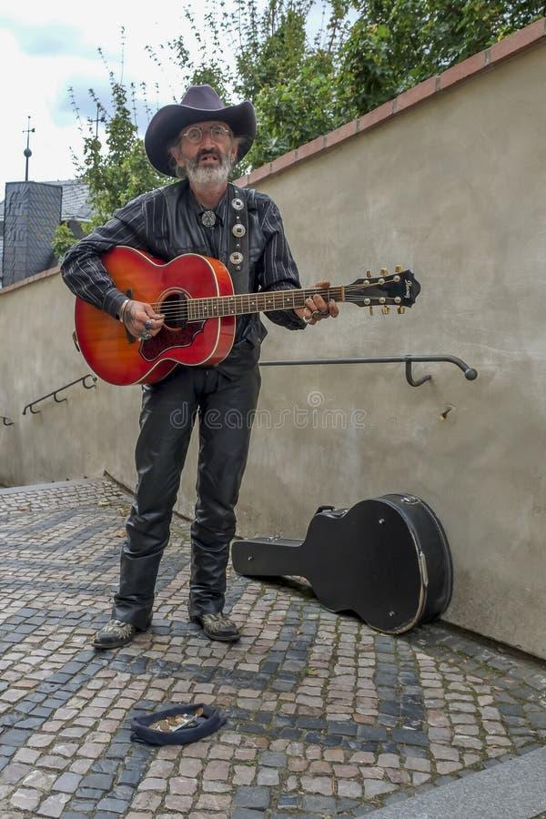 artystów Prague ulica zdjęcie royalty free