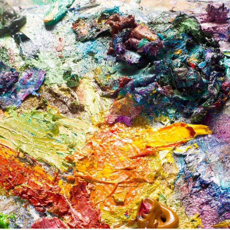 Artysta paleta zdjęcie royalty free