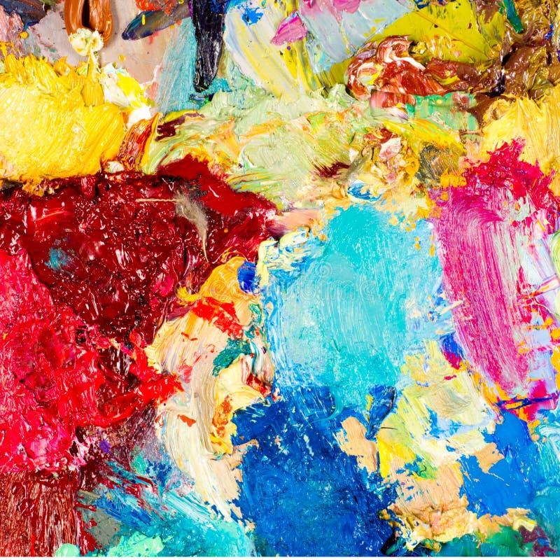 Artysta paleta obraz royalty free