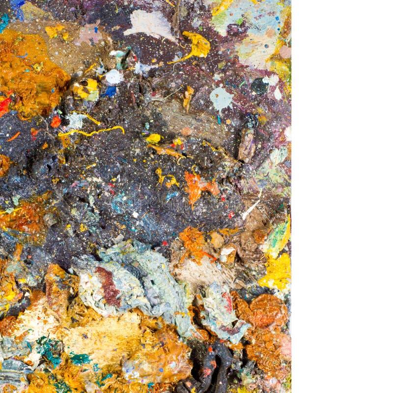 Artysta paleta obraz stock