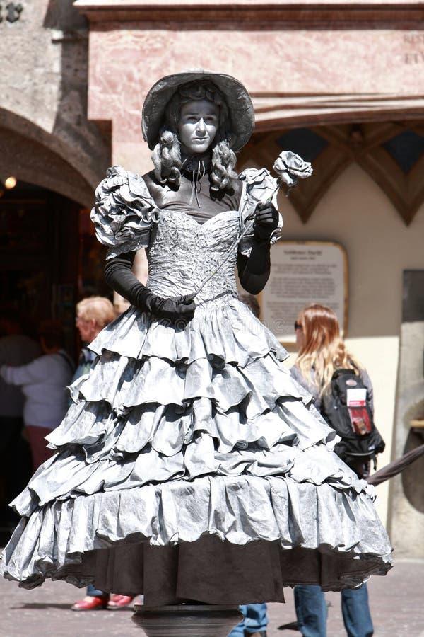 artysta ulica obrazy royalty free