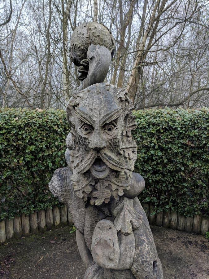 Artystaty på labyrinten royaltyfri fotografi