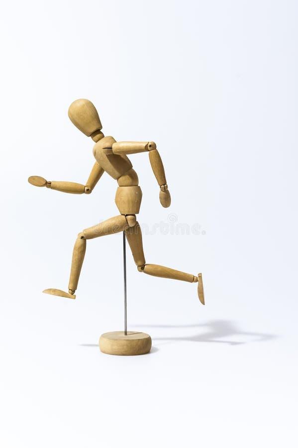 Artysty Rysunkowego Manikin Przegubny Mannequin z Podstawowym i Elastycznym ciałem obrazy stock