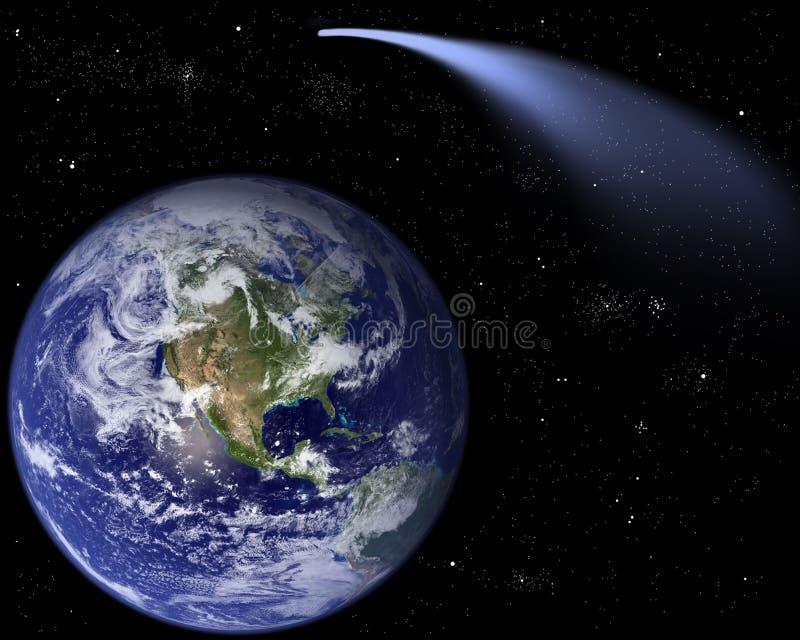 Kometa ISON ilustracji