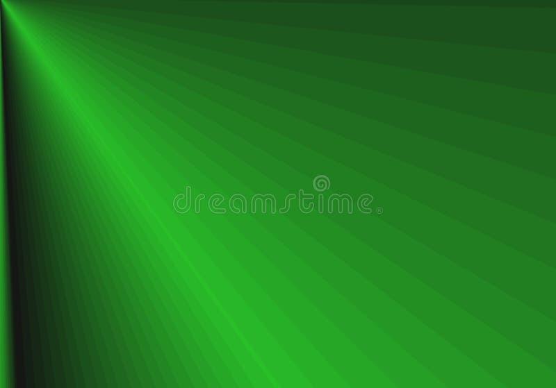 artystyczna abstrakcyjna projekt zielony royalty ilustracja
