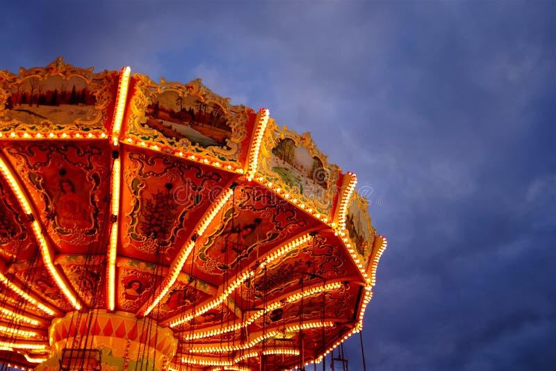 Artystyczna Karnawałowa przejażdżki scena zdjęcie royalty free