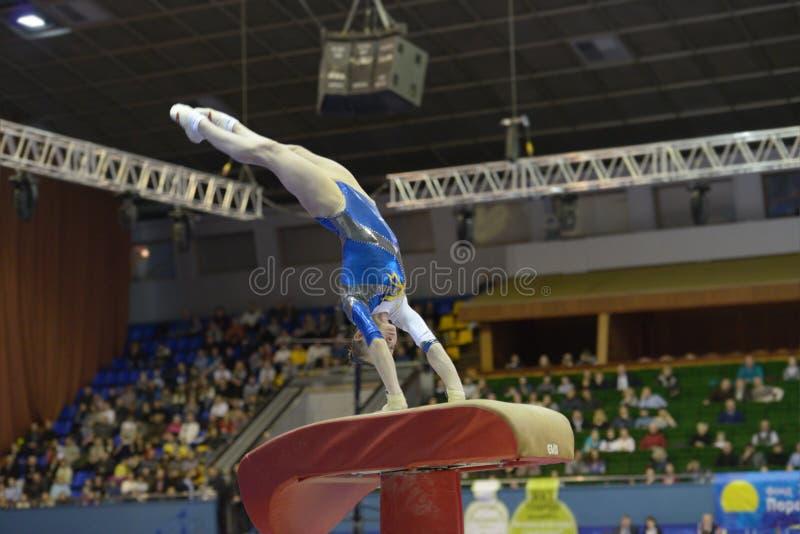 Artystyczne gimnastyki zdjęcia royalty free