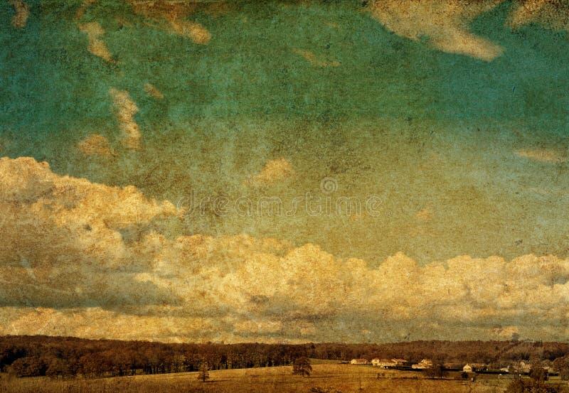 artystyczny fasonujący krajobrazowy stary fotografia royalty free