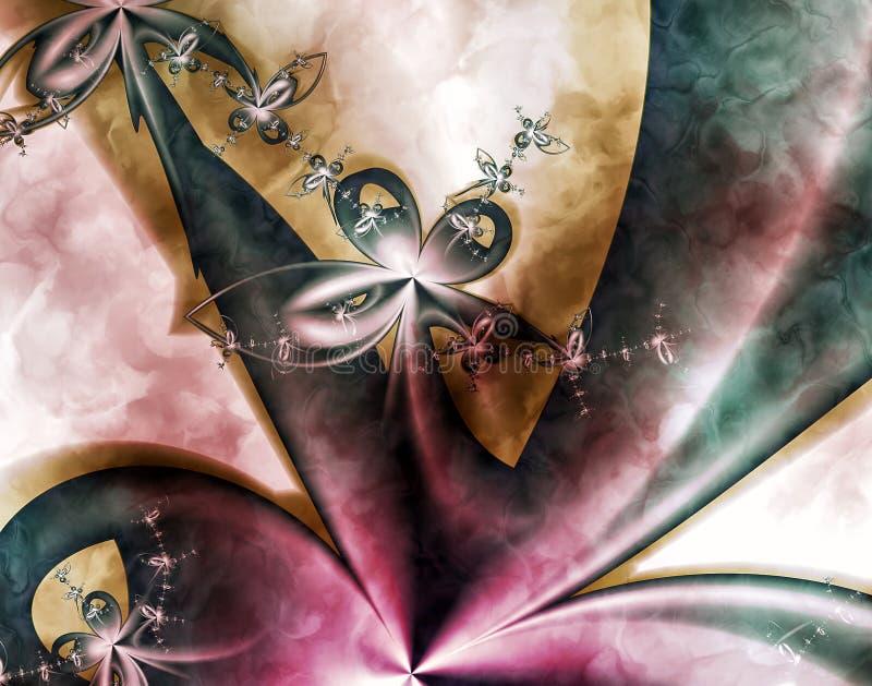 Artystyczny Fractal Ja zdjęcie royalty free