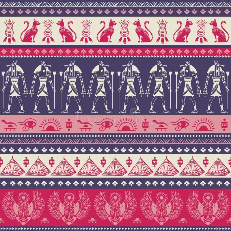 Artystyczny India?ski mandala druk Rocznik henny tatua?u styl royalty ilustracja