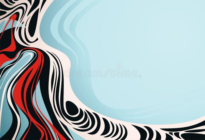 artystyczny tło ilustracji