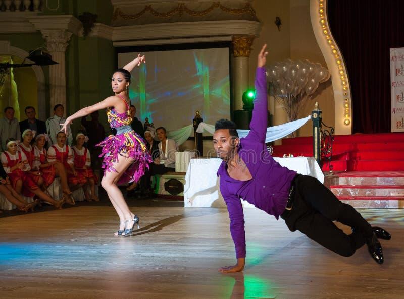 Artystyczny taniec Nagradza 2012-2013 fotografia royalty free