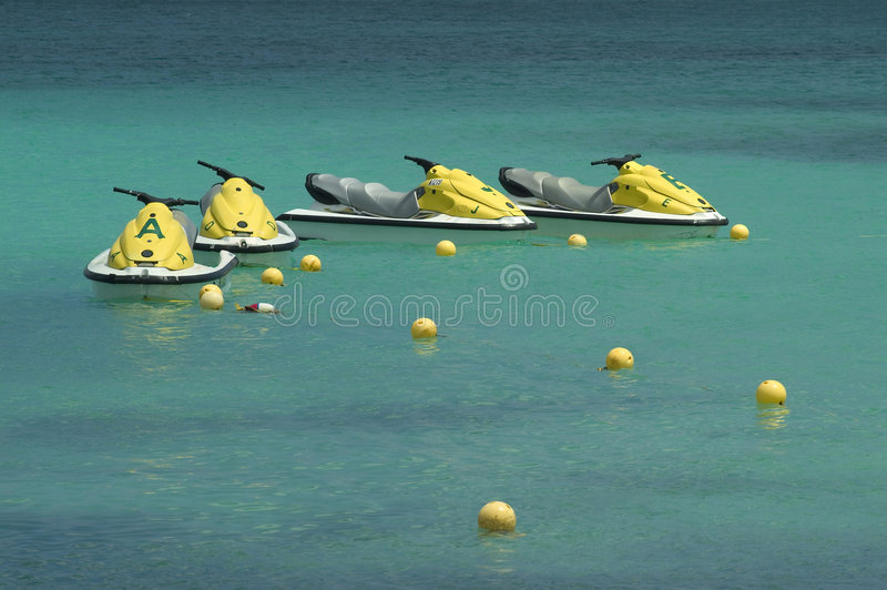 Download Aruba Beach 1 stock image. Image of turquoise, scooters - 9114657