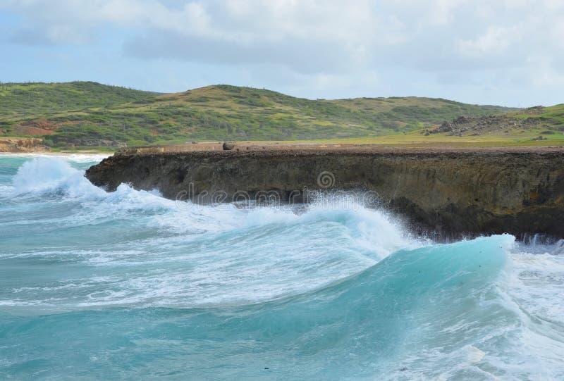Aruba brzeg obraz stock