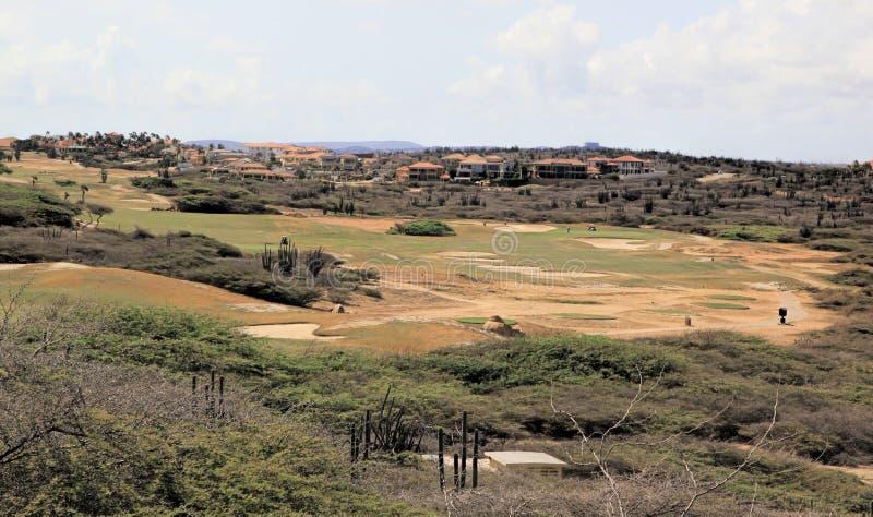 Aruba Golf Course stock images