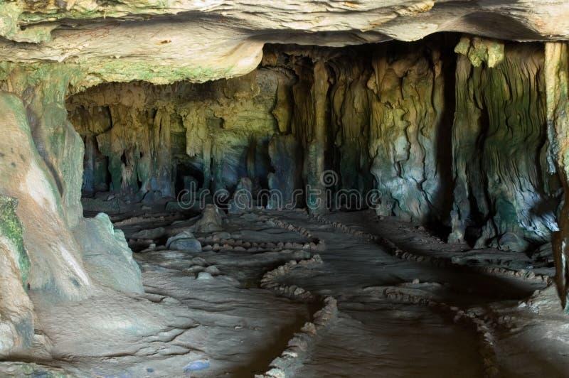 Aruba-Höhlen lizenzfreie stockfotografie