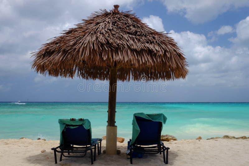 Aruba karibisk semester royaltyfri foto