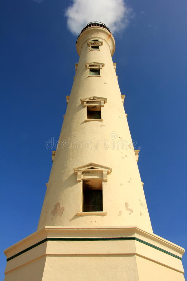 Aruba Lighthouse royalty free stock photography