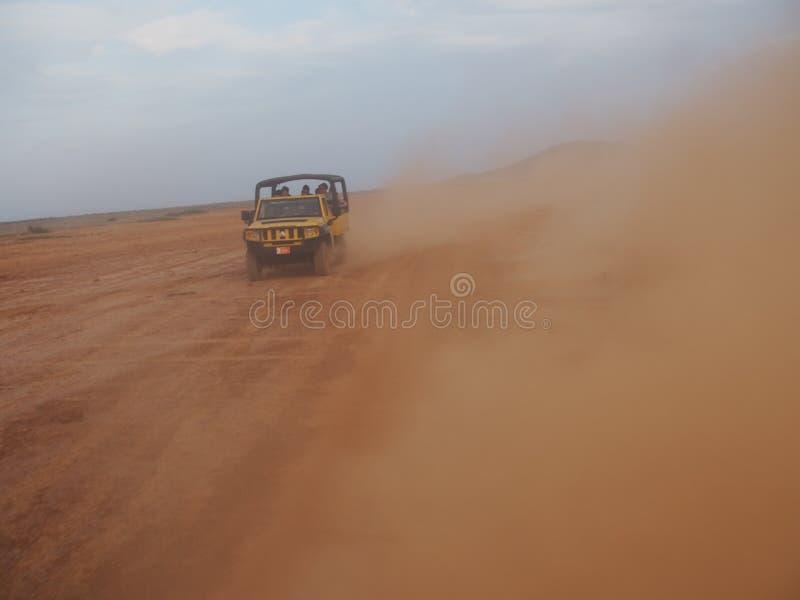 Aruba Safari Tour stock foto