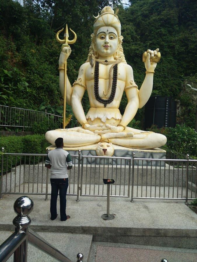 Arulmigu Balathandayuthapani寺庙槟榔岛 库存照片
