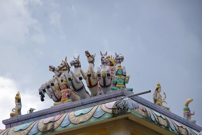 Arulmigu Rajamariamman Devasthanam imagenes de archivo