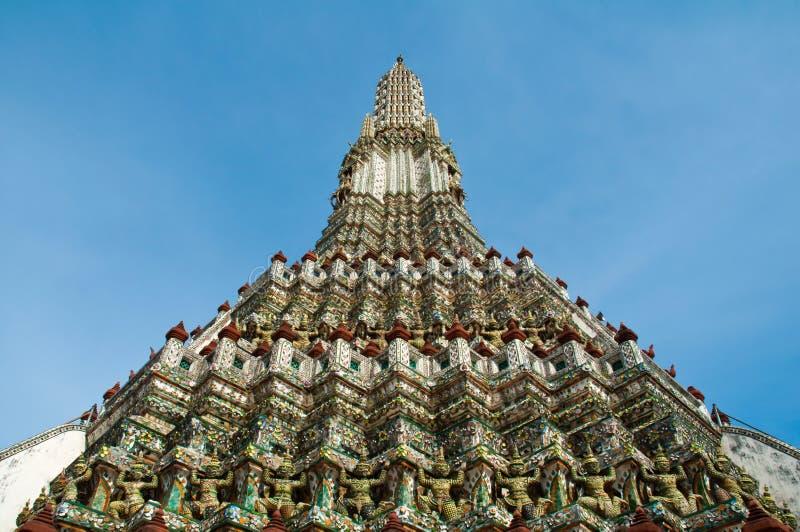 arun ναός phra prang wat στοκ φωτογραφία με δικαίωμα ελεύθερης χρήσης