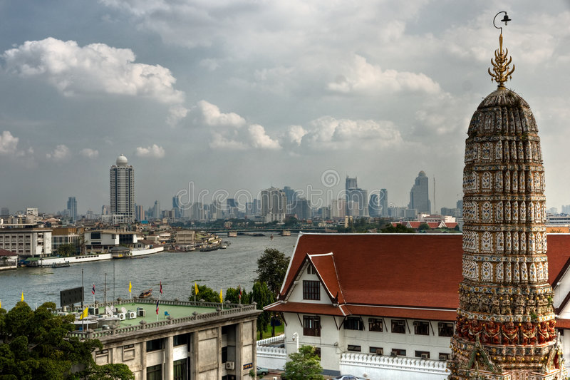 arun πόλεμος όψης thailandia της Μπανγ&kap στοκ φωτογραφίες