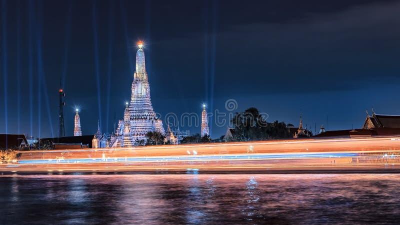 Arun Wat in Bangkok stockfoto