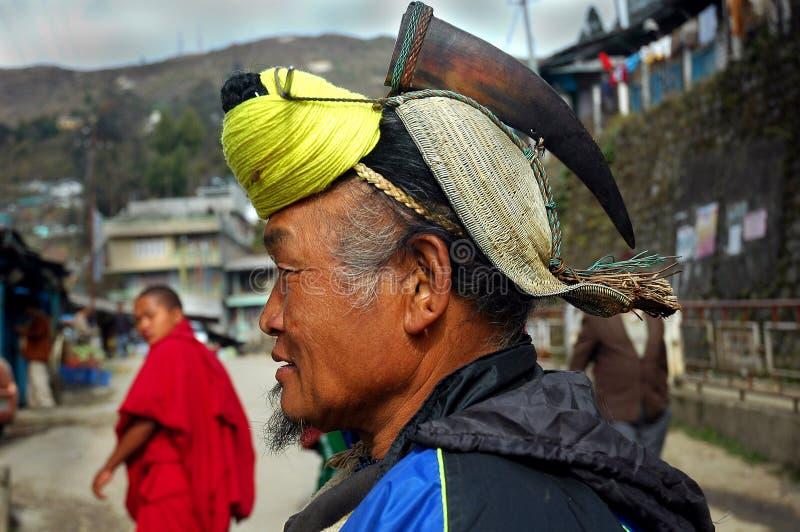 Arunachal的土地&人们在印度 免版税库存照片