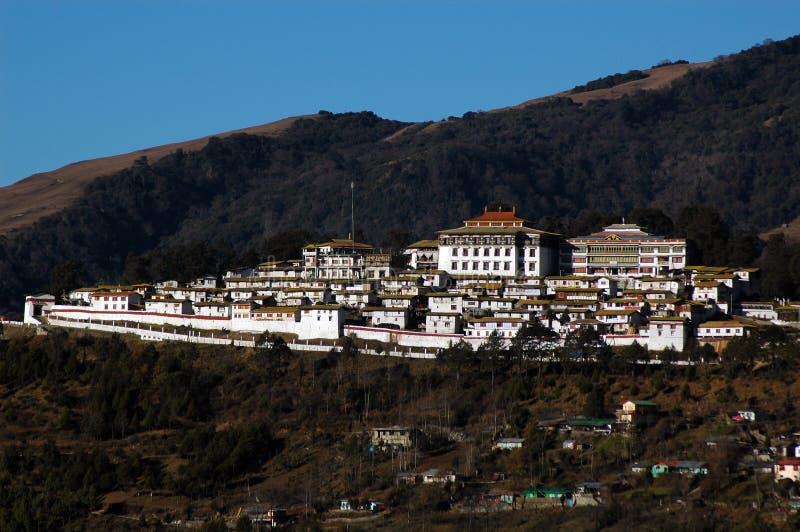 arunachal μοναστήρι pradesh tawang στοκ φωτογραφία