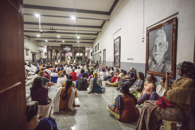 Arunachala, Tiruvannamalai/Tamil Nadu/Indi stockbild