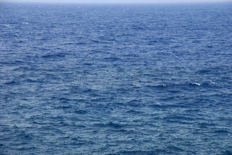arund蓝色加那利群岛la海洋palma挥动 库存照片
