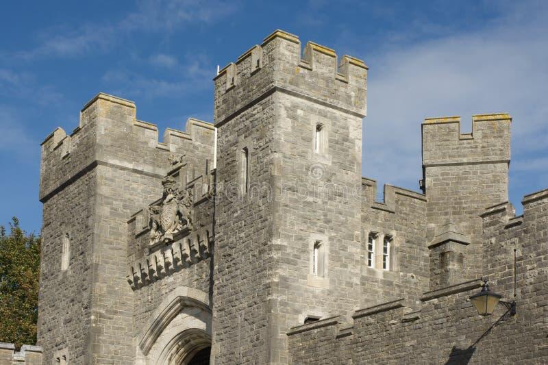 Arundel Castle, Sussex, Inghilterra immagine stock libera da diritti
