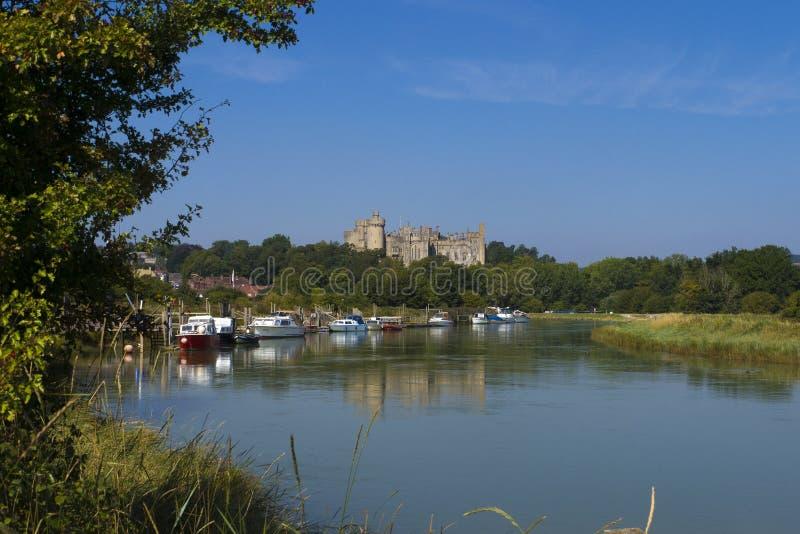 Arundel Castle ,West Sussex, England UK royalty free stock photos