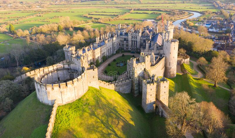 Arundel Castle Arundel West Sussex England United