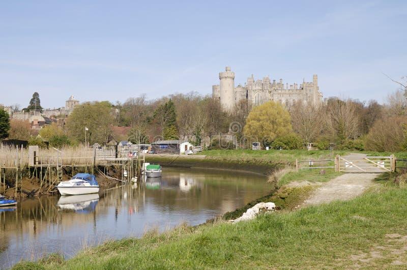 Arundel Castle. West Sussex. UK stock image
