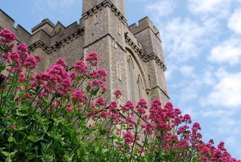 arundel slott royaltyfria bilder