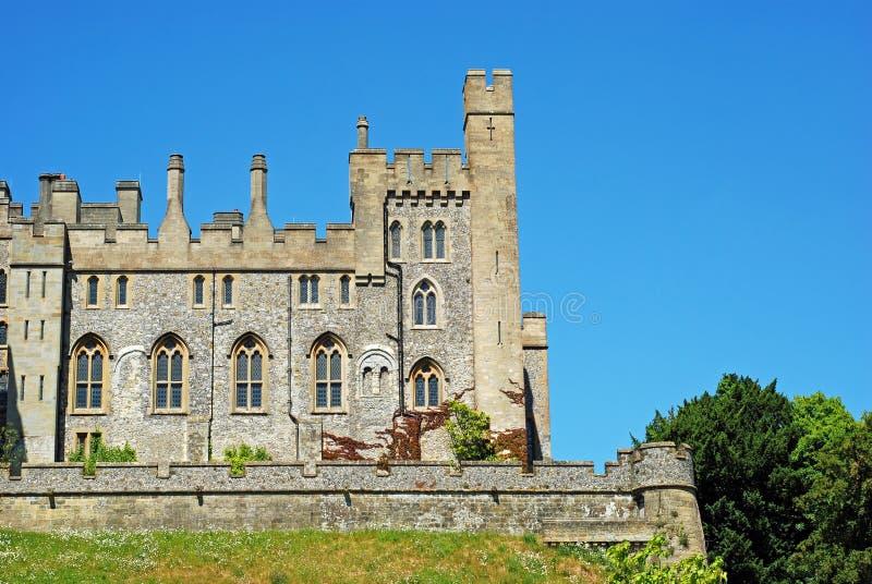 arundel slott england västra sussex royaltyfri bild