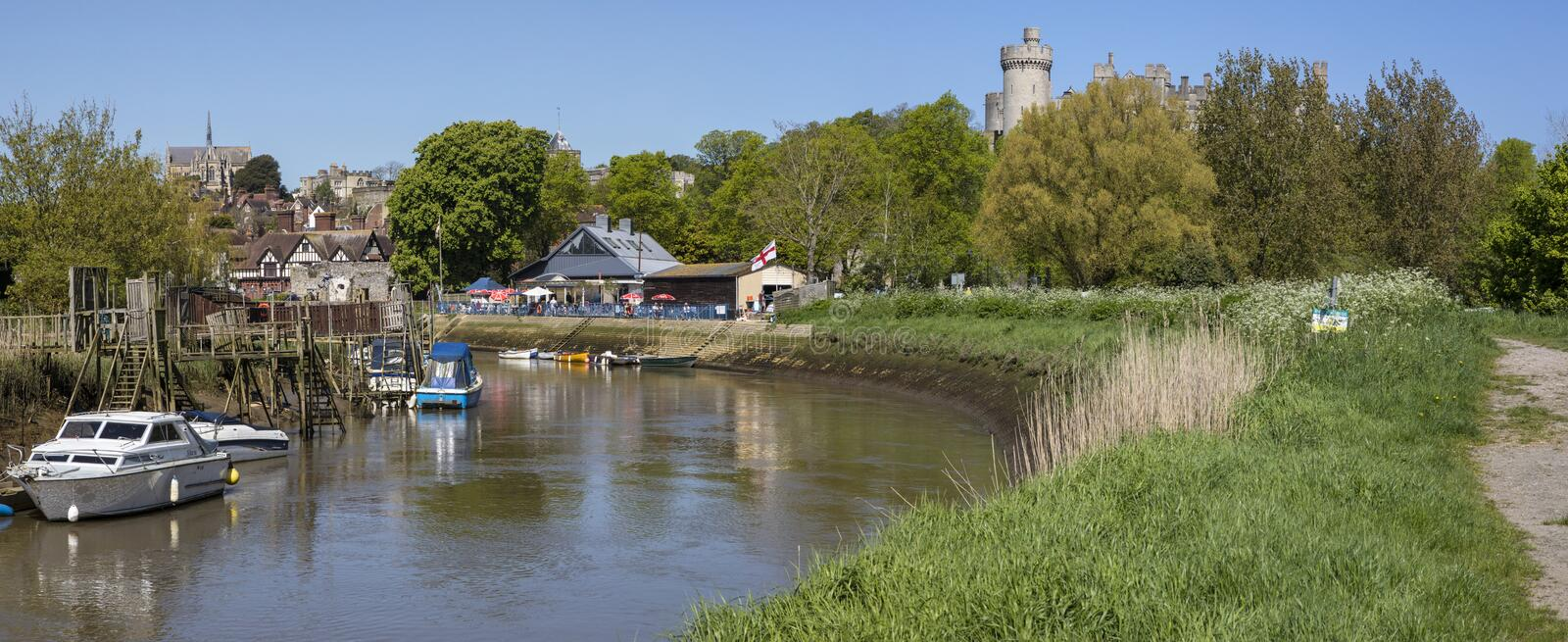 Arundel in West Sussex royalty free stock photography