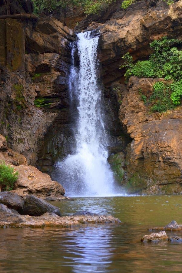 Arvalem понижается в Индию, Goa стоковые фотографии rf