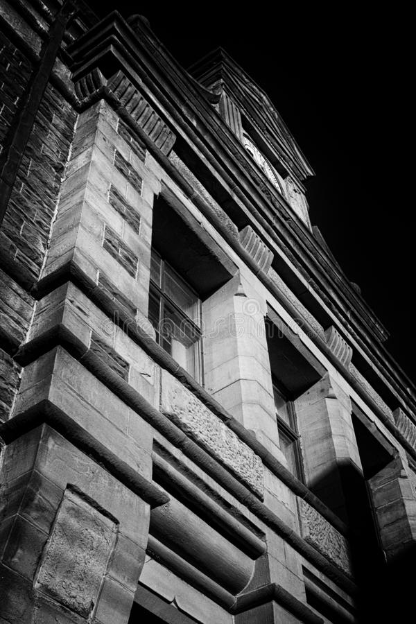 Arvbyggnad nya Glasgow royaltyfri foto